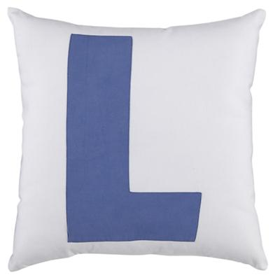 "ABC ""L"" Pillow"