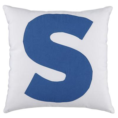 "ABC ""S"" Pillow"