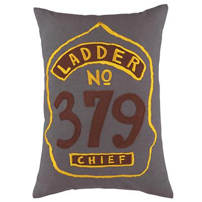 Fire Cadet Badge Throw Pillow