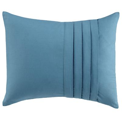 Pleated Pillow (Aqua)