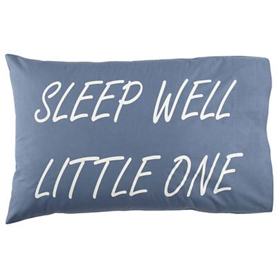 Sleep Well Pillowcase (Blue)