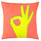A-OK Throw Pillow