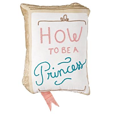 How to Be a Princess Throw Pillow