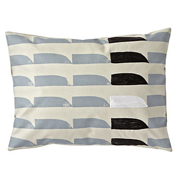 Neutral Shapes Throw Pillow