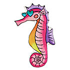 Seahorse Throw Pillow