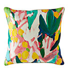 Floral Pattern Throw Pillow.