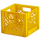 Yellow Milk Crate