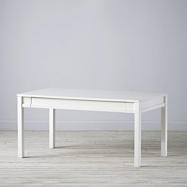 Medium Adjustable White Activity Table