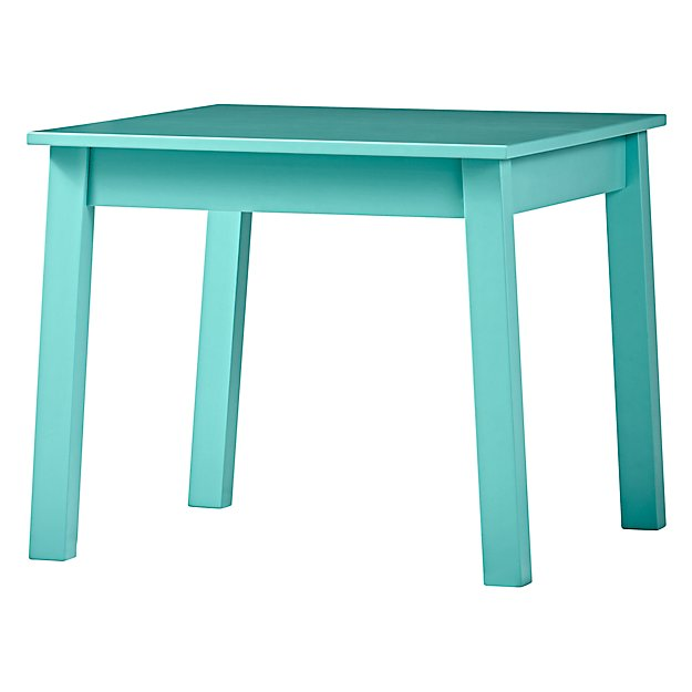 Anywhere Square Azure Kids Table