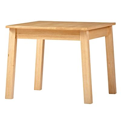 Anywhere Square Natural Play Table