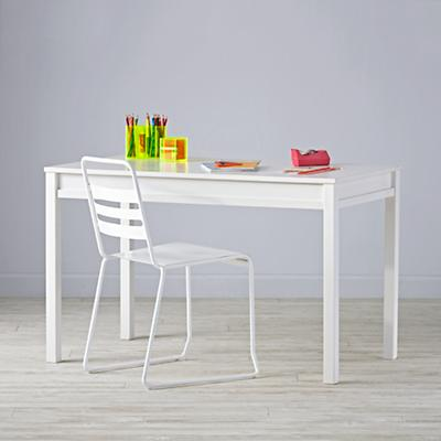 Adjustable White Activity Table Set
