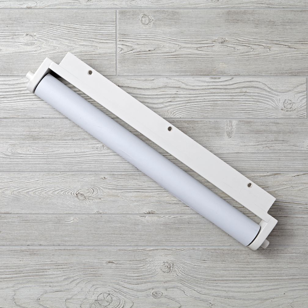 Adjustable White Activity Table Paper Roller & Paper