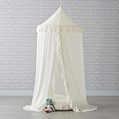 Playhome_Canopy_White_Ruffle_Cushion_Set