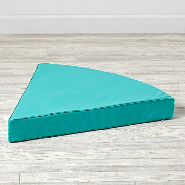 Geodome Green Floor Cushion