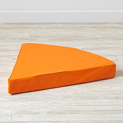 Geodome Orange Floor Cushion