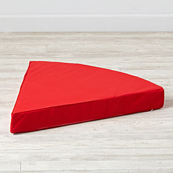 Geodome Red Floor Cushion