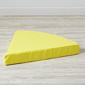 Geodome Yellow Floor Cushion