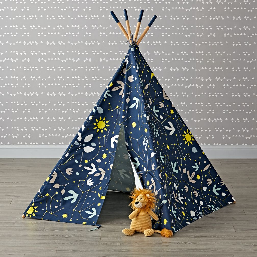 Horse shaped pillows for children - Genevieve Gorder Constellations Teepee
