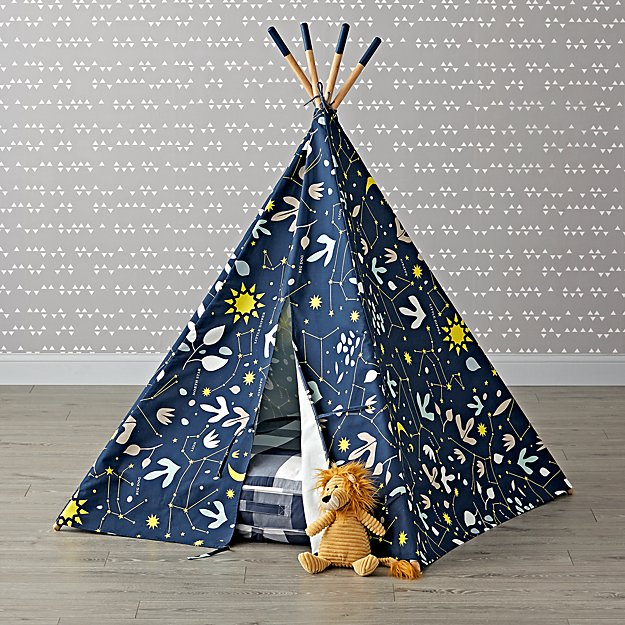 Genevieve Gorder Constellations Teepee and Cushion Set