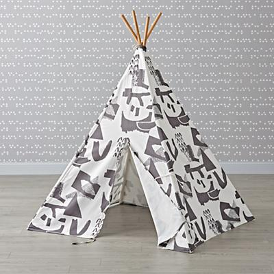 Playhouse_Large_Grey_Abstract_Teepee_LL