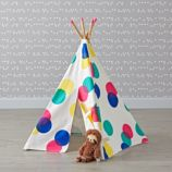 Small Polka Dot Teepee