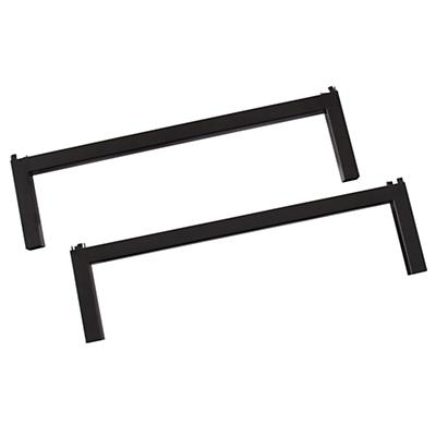 "7"" Hi-Fi Table Extender Legs (Black)"