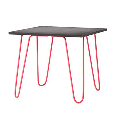 Neon Chalkboard Table (Hot Pink)