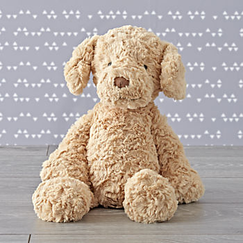 Jellycat Brown Puppy Stuffed Animal