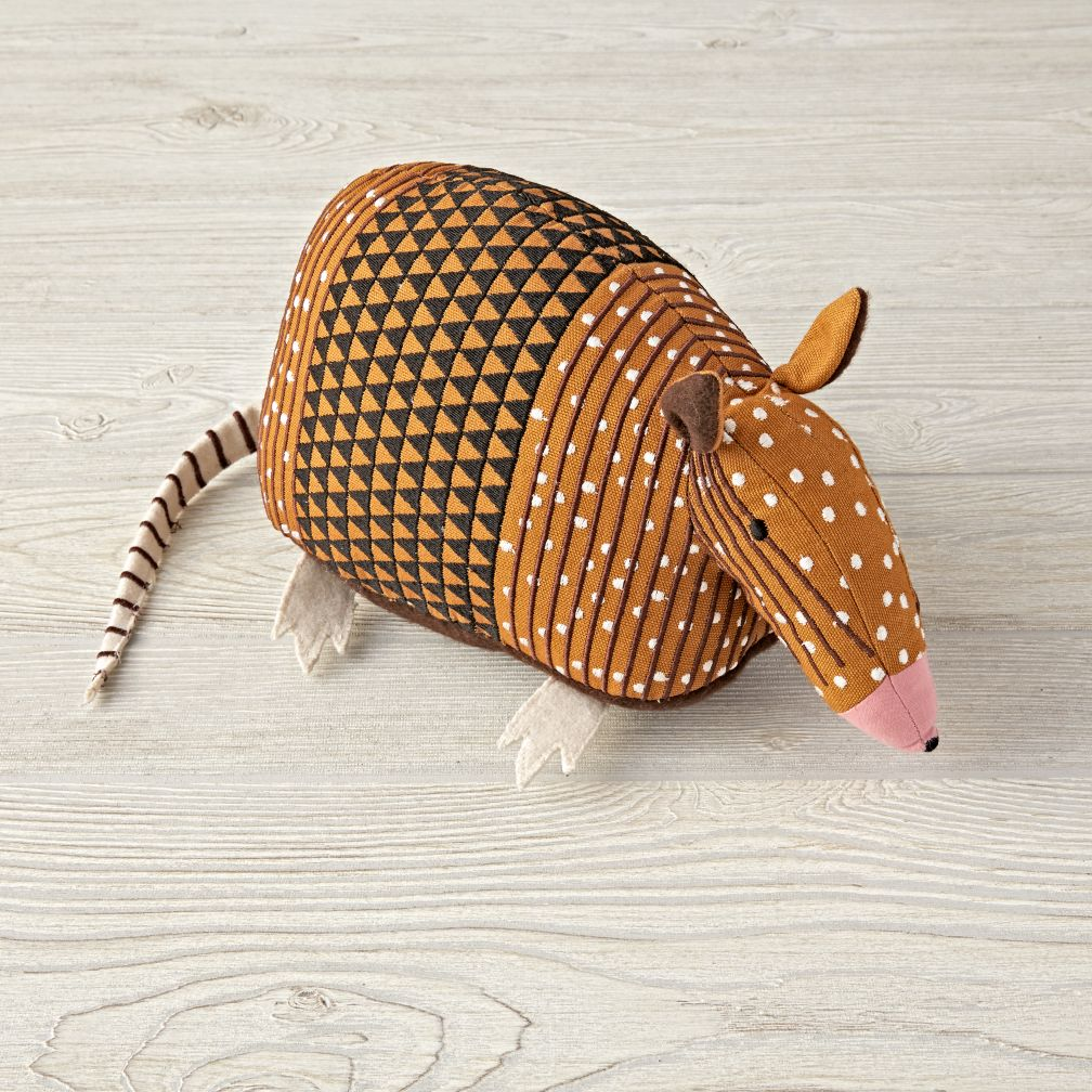 Charley Harper Armadillo Stuffed Animal