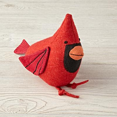 Charley Harper Cardinal Stuffed Animal