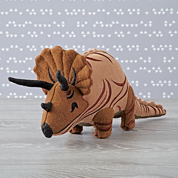 Charley Harper Triceratops Stuffed Animal