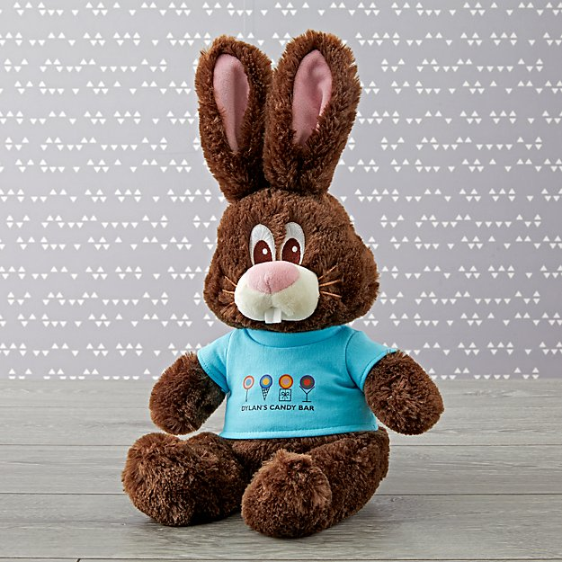 Dylan's Candy Bar Chocolate the Bunny Stuffed Animal