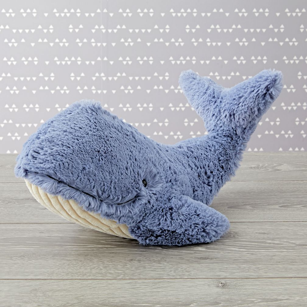 Jellycat Whale Stuffed Animal The Land Of Nod