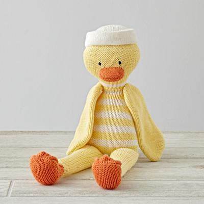 The Knit Crowd Yellow Duck