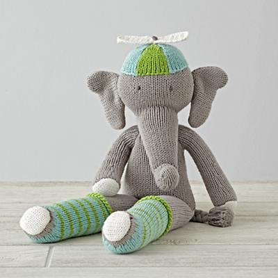 "The 14"" Knit Crowd Elephant"