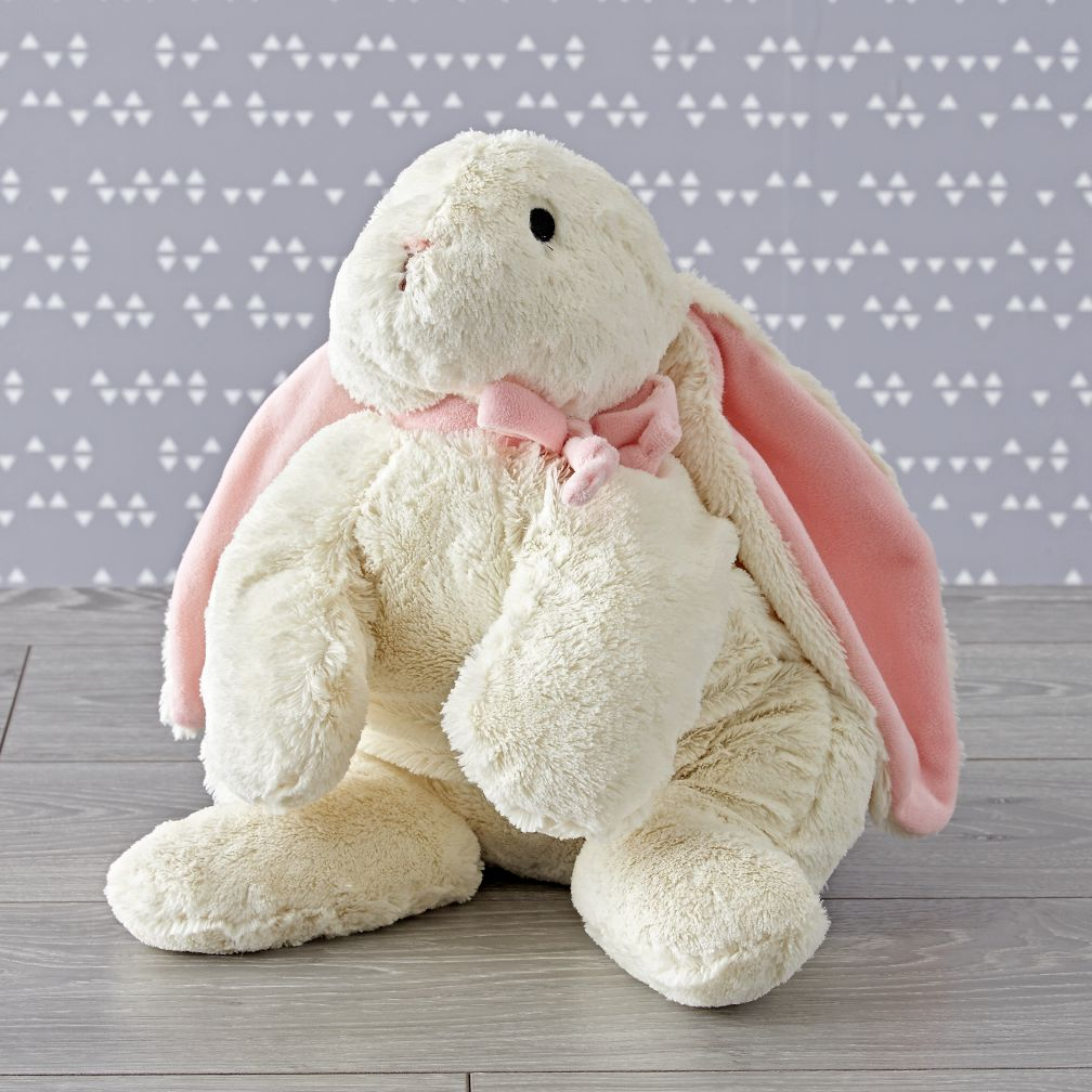 Large Pink Bunny Stuffed Animal
