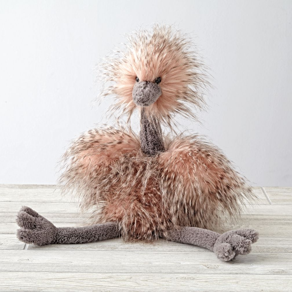 loft conversion design ideas - Jellycat Ostrich Stuffed Animal