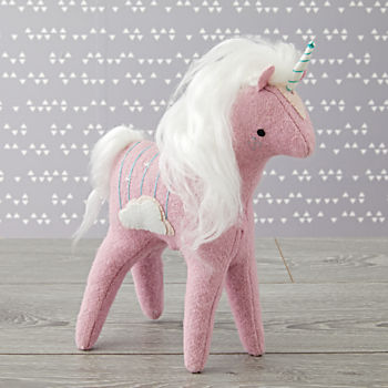 Mythical Edition Plush Unicorn (Purple)
