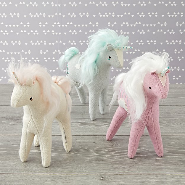 Mythical Edition Plush Unicorns (Set of 3)