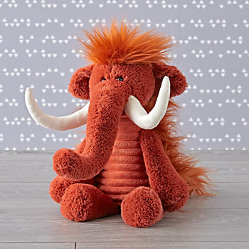 Jellycat Corduroy Wooly Mammoth Stuffed Animal