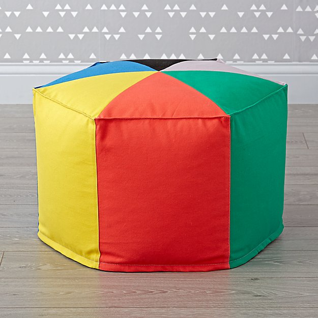 Hexagon Pouf