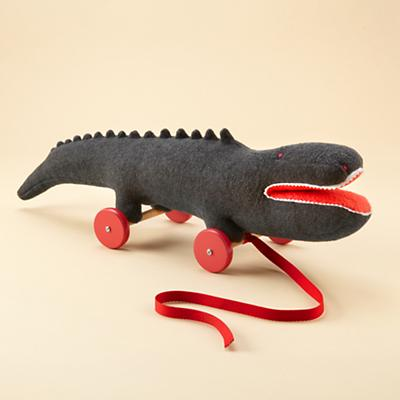 What a Croc Pull Toy