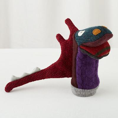 Pullover Hand Puppet (Dragon)