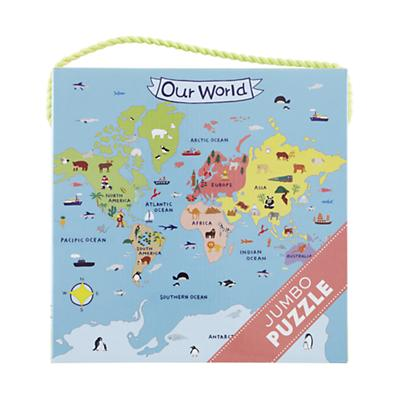 25 Piece Jumbo Our World Puzzle