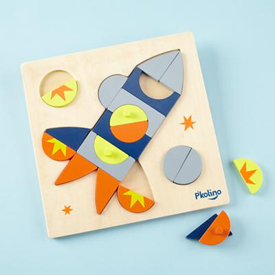 Shapes Rocket Puzzle