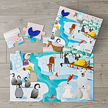 Giant Life on Ice 20-Piece Puzzle