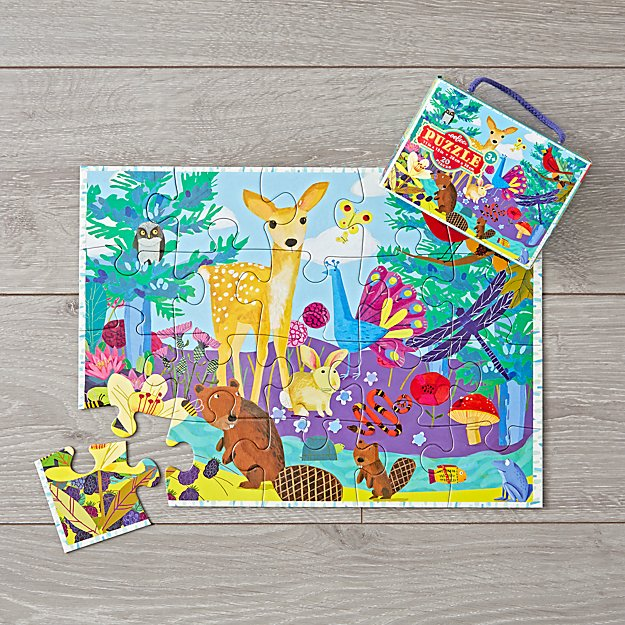 Life on Earth 20-Piece Puzzle