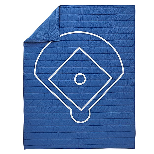 Nod Baseball Full-Queen Quilt