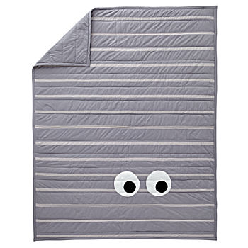 Googly Eye Twin Quilt