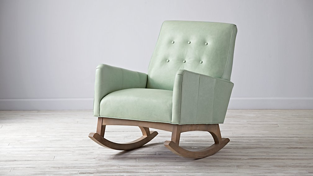 heirloom rocking chairs everly retro rocking chair the land of nod